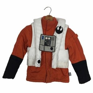 STAR WARS Disney kids Flight jacket faux leather